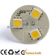 Low cost High quality 3 SMD5050 AC/DC10-25V G4 lightig