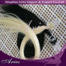 Indian micro bead loop hair extension permanent