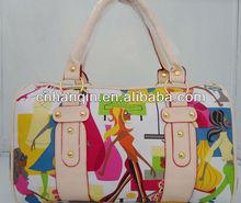 Cheap PU top 10 brand women bags