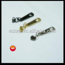 2012 gold zipper slider