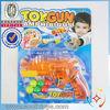 2 functions gun ping-pong gun and water gun in one item