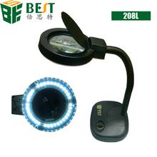 Best-208L 5x 10x desktop magnifier lamp