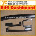 de fibra de carbono de la mano izquierda conductor e46 interior tablero de instrumentos para bmw