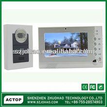 2012 wired digital security video door phone