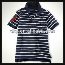 new style stripe cotton polo shirts , t-shirt for men