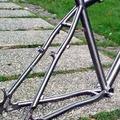 de titanio de bicicletas de montaña marco