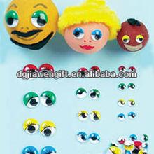 Colorful Plastic Dolls Eyes Moving Eyes