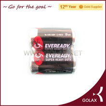 1.5V D/R20 eveready dry battery