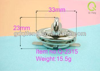 zinc alloy luggage accessory spare parts Bag lock q-2315