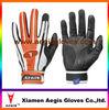 orange baseball batting gloves supplier Leather baseball batting gloves supplier