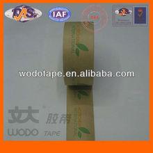 Self adhesion water activated printing Kraft Paper Tape