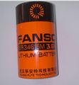 tamaño d er34615m de litio cloruro de tionilo de la batería