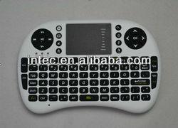 2.4G Mini Wireless Keyboard with Touchpad F PC Pad Google Andriod TV Box
