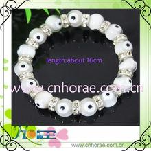 lovely handmade eye beads bracelet