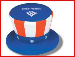 pu cap stress ball,patriotic's day items ,one dollar items