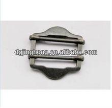 metal matt nickel side adjustable Buckle