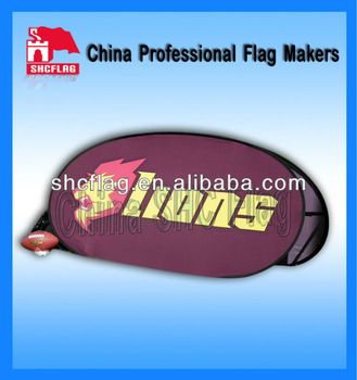 hot sales and high quality vertical pop up banners