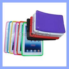 For iPad Mini Case Silicone Cover Colorful