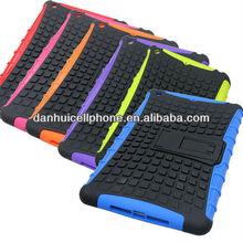 newest combo pc tpu case with kickstand for ipad mini