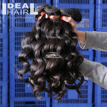 Quality guaranteed no tangle curly 100% combodian hair weave