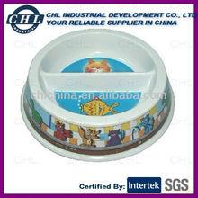 Full color printing melamine cat bowl