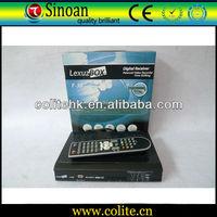 Receiver Lexuzbox/Lexuzbox F38 ,Brasil Cable SD Receiver/Original