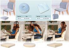 memory foam moulded pressure-relief car seat cushion