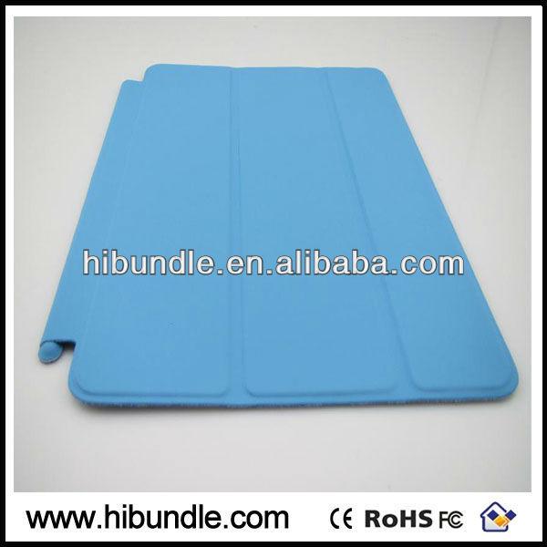 New arrival Leather for ipad mini smart case