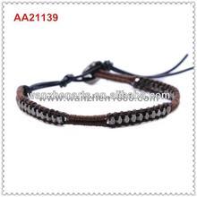 original wrap bracelet wholesale angel wings beads AA21139G6