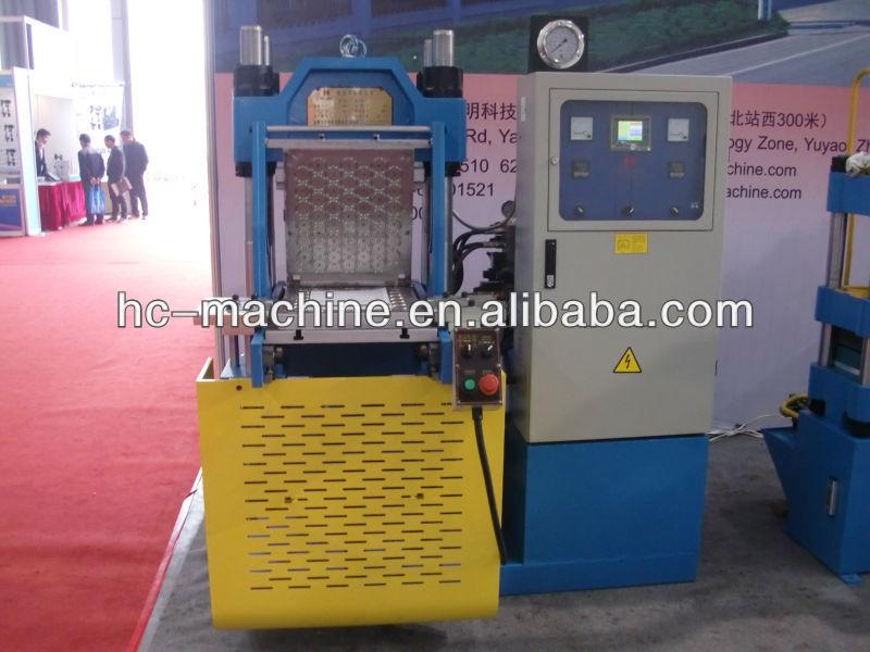 Auto de goma tipo de moldeo por compresión de la máquina xlb-y100t