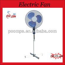 Straight Grill Stand Fan 16 Inch Pedestal Fan Cross Base