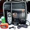 Aetertek waterproof dog shock collars,remote pet training with LCD screen