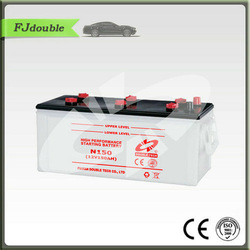 car battery N150 145G51 dry charged auto/automobile/car starting battery JIS