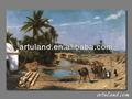 Hechos a mano árabe camel pintura / clásica árabe pintura