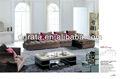 2012 nuevo diseño l sofá de la tela conjuntos uesd es la tela de alta calidad de acabado para el mobiliario de la casa