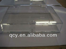 2012 special offered exquisite clear acrylic storage box