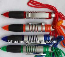 neck strap pen promotion metal ball pen for promotional
