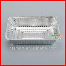 Convenient carry-out aluminum foil container