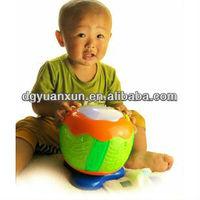 Kids plastic flashing top toy