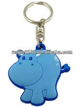 2012 hot sale Environmental protection3D cartoon animal keychain