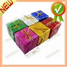 2013 Hot Christmas Hanging Ornament Colorful Gift Box Pendant