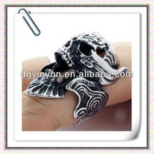 2012 fashion mens designer finger skull rings,316L stainless steel jewelry wholesale