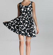Fashion drape plus size women dress/casual dress/women apparel