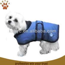Waterproof light blue dog coat