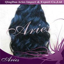 "Mix 18""-28"" Brazilian human hair weft extensions body Weaves natural black 100g/pc 4pcs/lot"