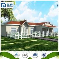 Beautiful comfortable prefabricated fiberglass houses and villas