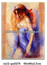 Best seller items Indian abstract Nude girl painting