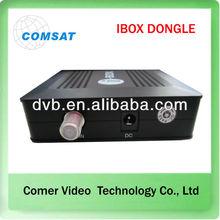 china receiver satelital dvb s2 Dongle ibox nagra3 for south America market