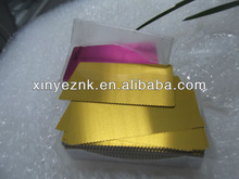 high end colorful aluminum business card for you