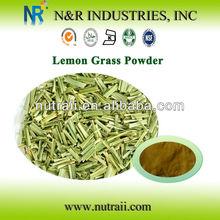 alta qualidade herbal pó seco lemon grass pó